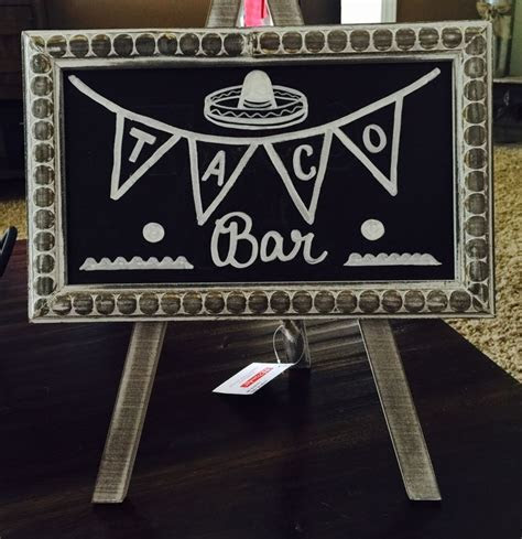 Taco bar sign!   Party ideas   Pinterest   Tacos, Taco bar