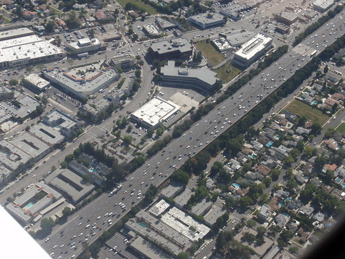 101 Freeway, Burbank Blvd. and Ventura Blvd.