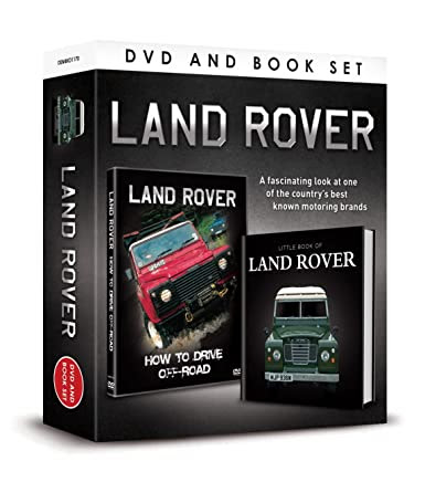 LAND ROVER DVD & BOOK Set