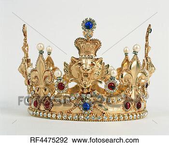 Banco de Imagem - king's, coroa.  fotosearch - busca  de fotos, imagens  e clipart