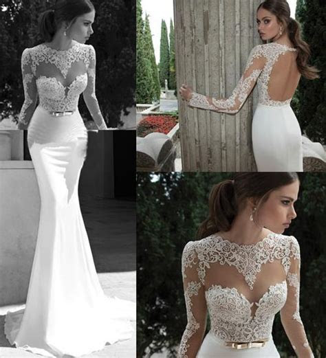 Discount New Sheer Wedding Dresses Berta Winter 2014
