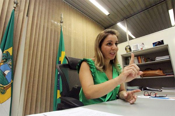 Secretária estadual de Segurança, Kalina Leite, é otimista em melhorar a estrutura da pasta no RN e convoca o poder municipal para contribuir