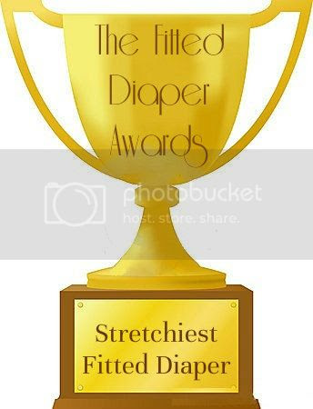 The Stretchiest fitted diaper