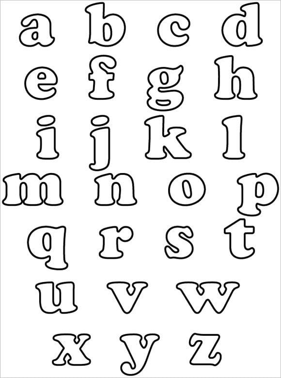 30+ Alphabet Bubble Letters - Free Alphabet Templates | Free ...
