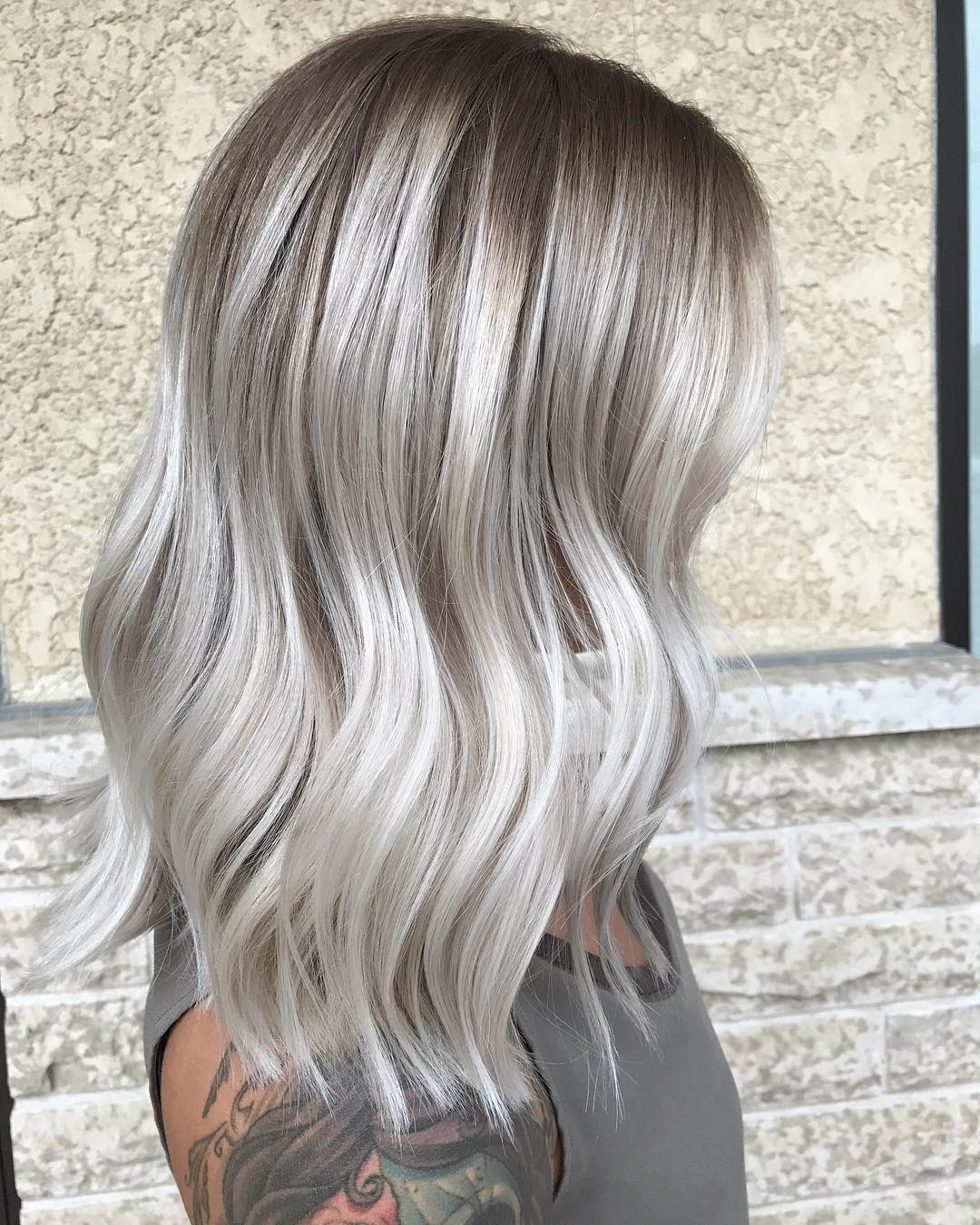 Ash Blonde Hairstyles Women Hair Color Designs For 2018 PoPular