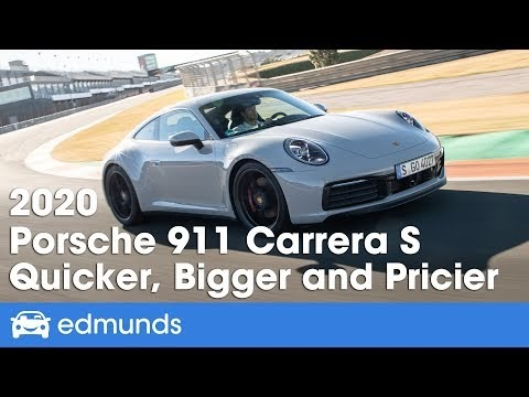 2020 Porsche 911 Carrera S | Behind the Wheel | Edmunds