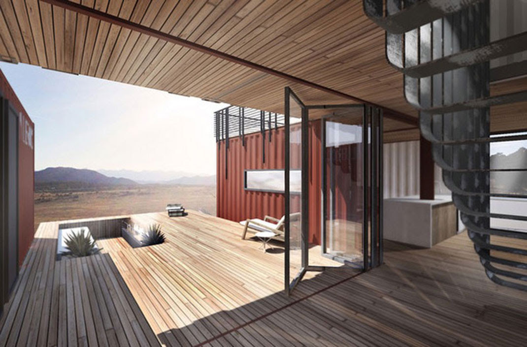 These Gorgeous Low Cost Eco iHomesi Are Built Using iContainersi