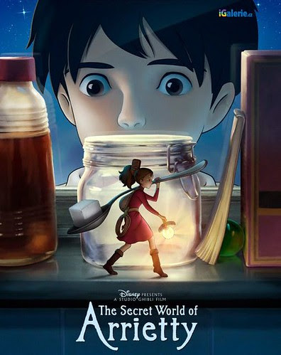 THE SECRET WORLD OF ARRIETTY - poster3