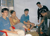 French students came to India well prepared. They would light ultraviolet lamps in the jungle and pick up the moths