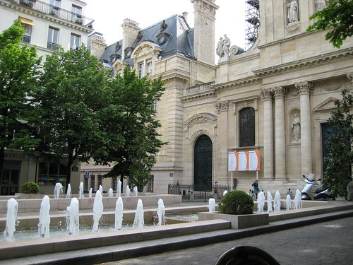 Fountains by the Chapelle de la Sorbonne