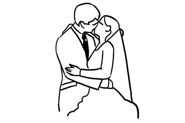 Позирование: позы для свадебной фотографии 3
