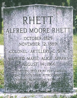 Col Alfred Moore Rhett