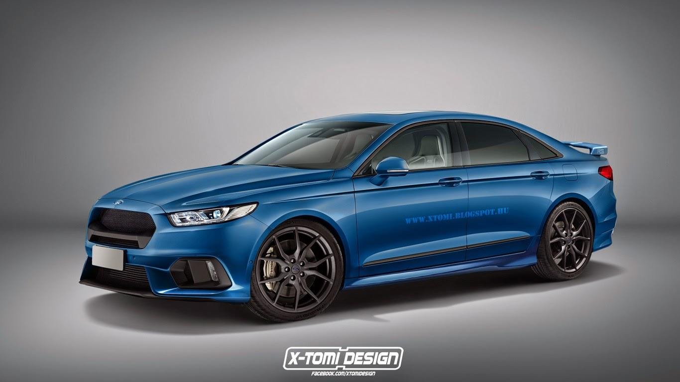 This unofficial rendering of a Ford Taurus RS makes us ...