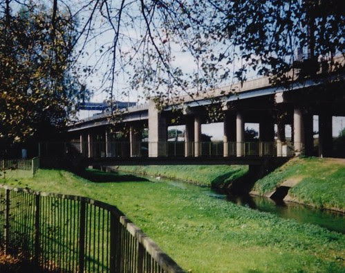 Selford Park looking at River Tame & Aston Expressway