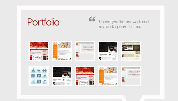22 freebie portfolio design tutorial