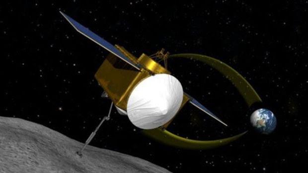 Sonda enviada a asteroide vai estudar superfície de 'asteroide morte' (Foto: BBC/Nasa)
