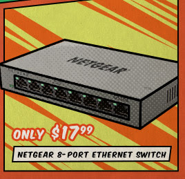 Netgear 8-Port Ethernet Switch