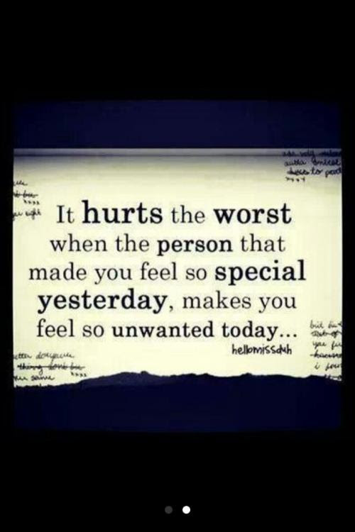 Its Really Hurt That When Someone You Think Is Close Care To You