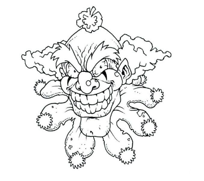 Scary Fish Drawing at GetDrawings | Free download