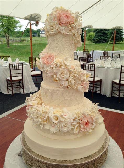 Fondant Wedding Cake Gallery ? White Flower Cake Shoppe