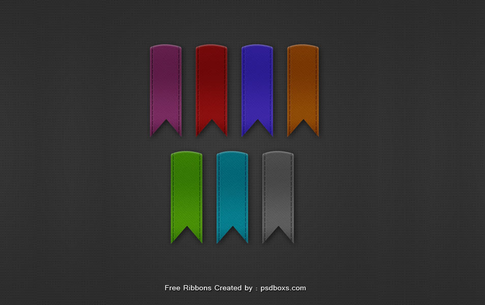 7 Ribbons PSD