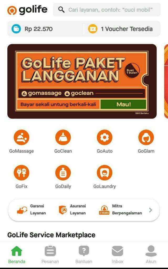 Review GoClean: Saat Ingin Bersih Tanpa Repot