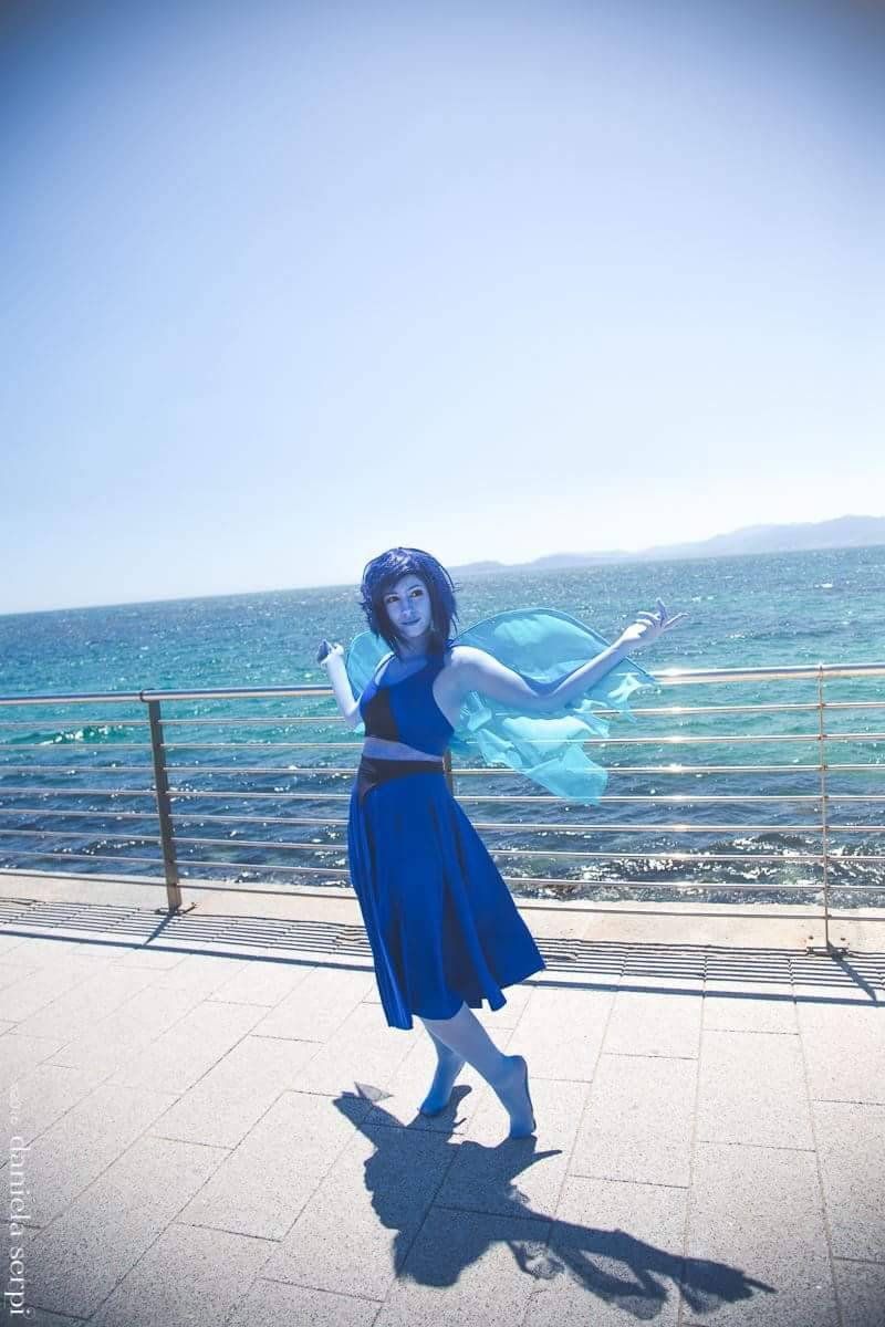 Me as Lapis Lazuli My little cousin as Steven @aquaokumura as Jasper @toweringoveryou as Sapphire Carola (SHE CHANGED HER TUMBLR NAME AND I CAN'T FIND HER) as Ruby Pics by @didychan