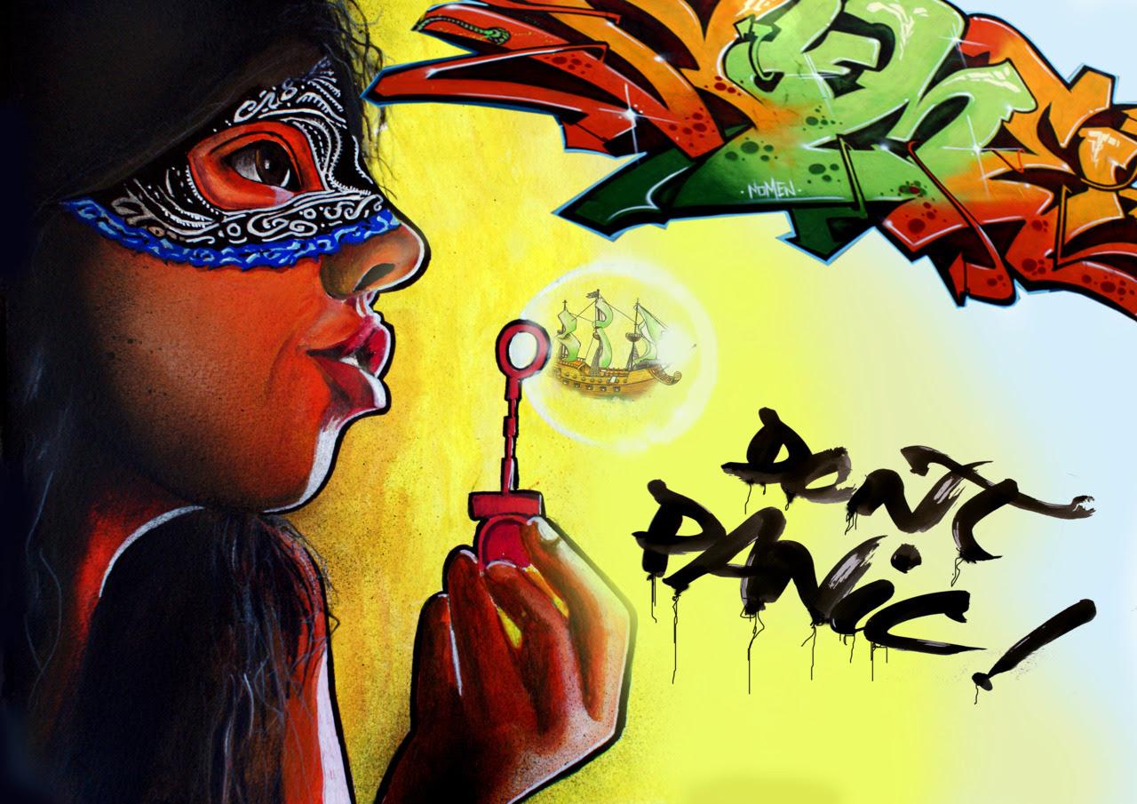 "Poster da ""Don t Panic"".Nomen 2010"