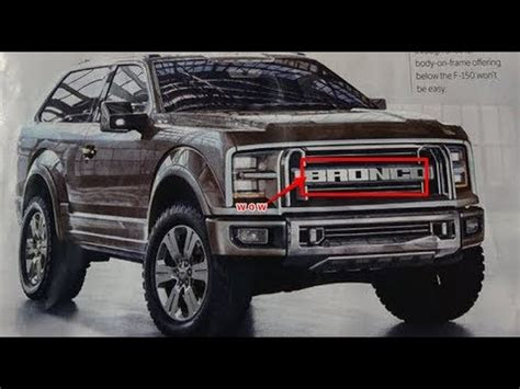 ford bronco  svt raptor version doovi