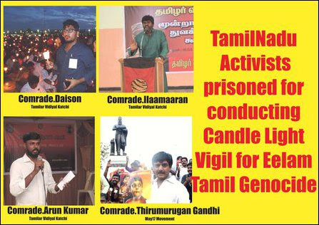 Detained Tamil Nadu activists