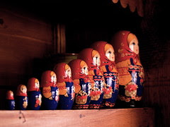 Matryoshka doll - Poupée Russes