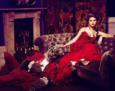 Selena Gomez Come And Get It Red Dress - Selena Gomez Instagram