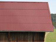 Brick Slips Installation Corrugated Bitumen Sheets 3m