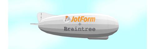 Visual: BrainTree + JotForm