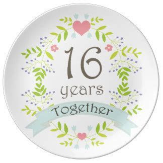 16th Year Wedding Gifts   T Shirts, Art, Posters & Other