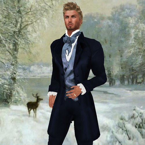 SF NEW TUX ELYSIUM in blue by mimi.juneau *Mimi's Choice*