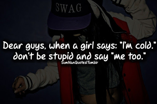 cap, cool, girl, sumnanquotes, swag