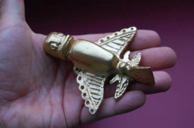 obiecte misterioase, Figurinele incașe de aur