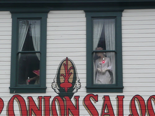 Red Onion Saloon window
