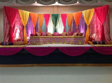 Sangeet wedding decor. Also great for Garba decor, Indian