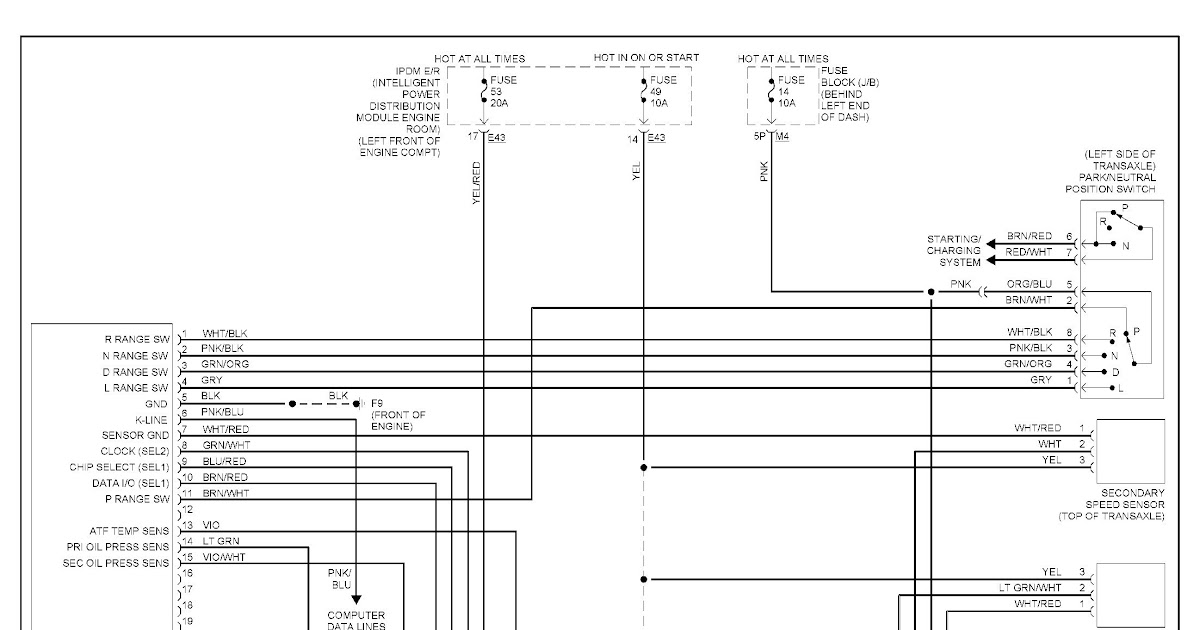 2006 Nissan Sentra Parts Diagram