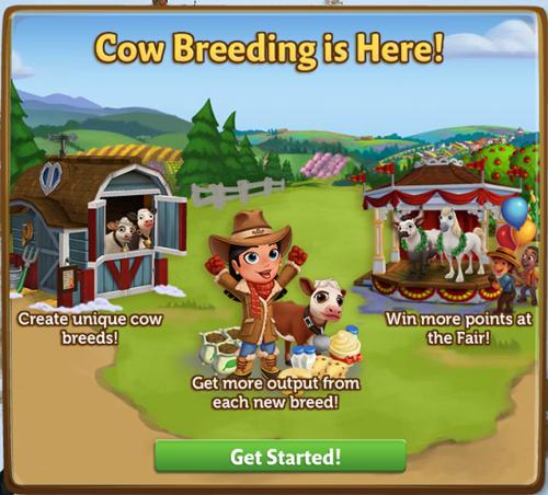 Cow Breeding - FarmVille 2
