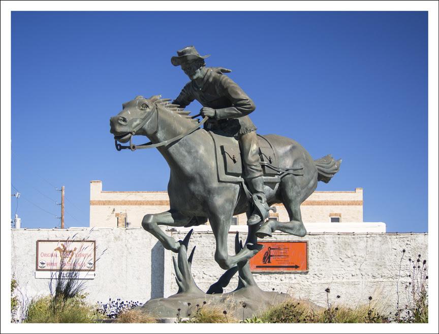 Pony Express Statue