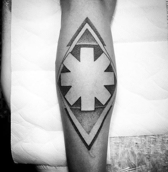 Red Hot Chili Peppers Asterisk Tattoo Red Hot Chili Peppers Tattoos