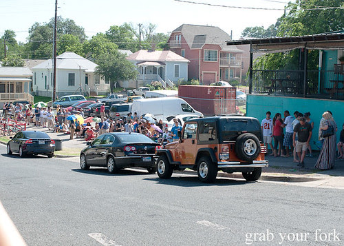 crazy queue at franklin barbecue austin texas