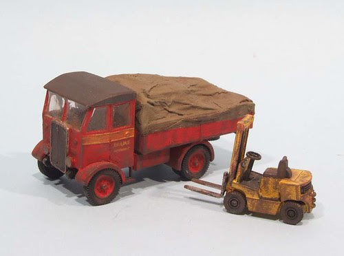 Scammel and forklift