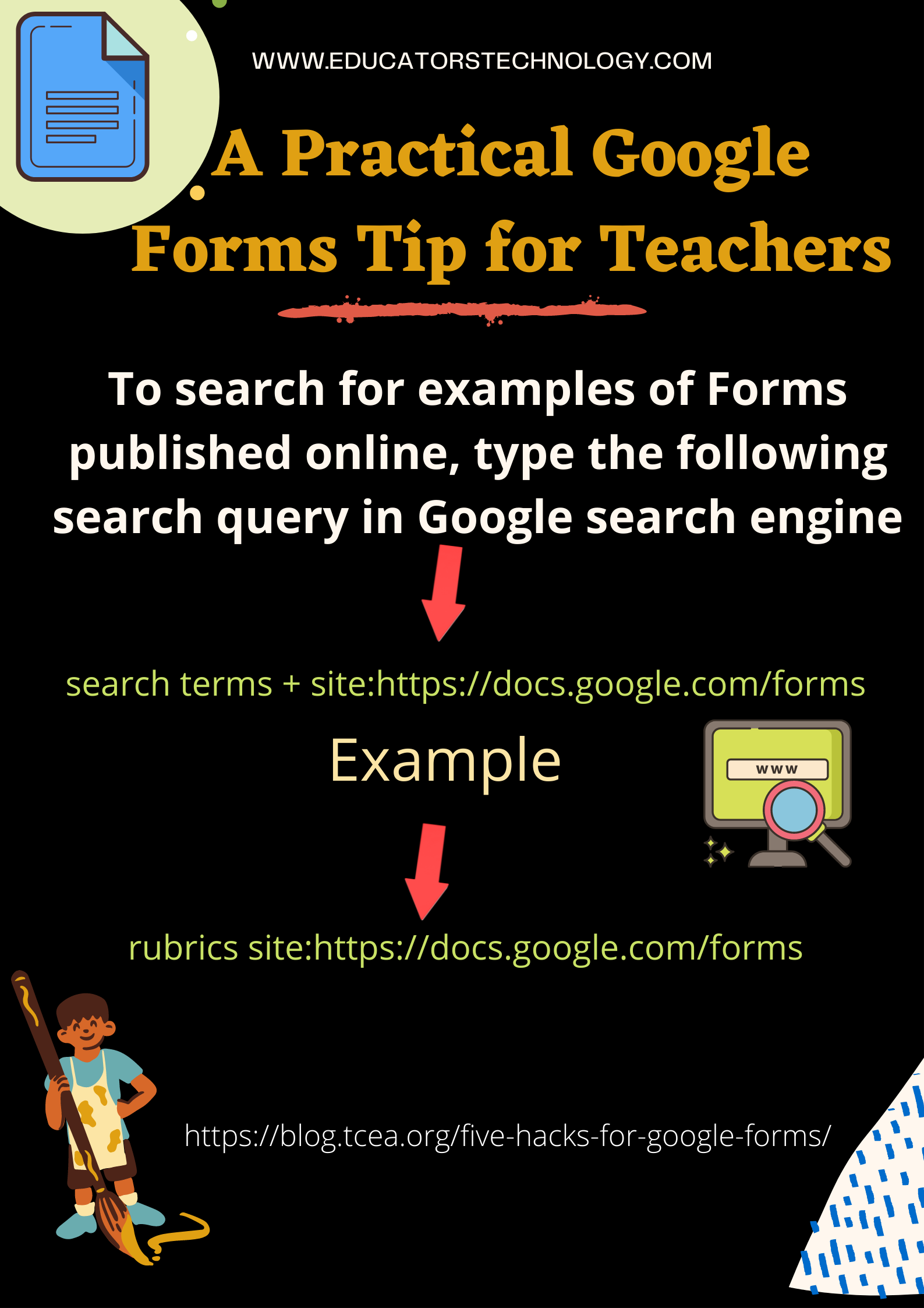 Google Forms is one of the best free tools for creating a wide variety of forms from surve A Practical Google Forms Tip for Teachers