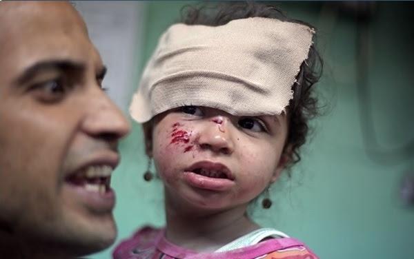 palestina criança gaza israel