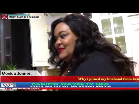 Monica Jonnes:Why i joined my husband from kenya to America