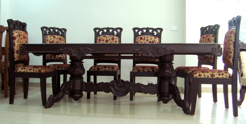 Wooden Furniture Cochin Dining Tables  Kerala Furniture ...